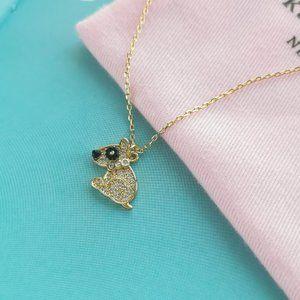 milo mini pendant necklace + dust bag